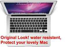Clear Silicone Keyboard Cover Skin for Apple Macbook Pro MAC 13 15 17 Air 13