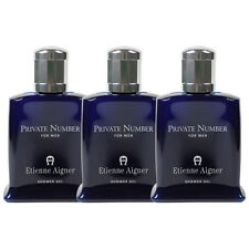 Private Number by Etienne Aigner for Men Combo Pack: Shower Gel 15oz (3x 5oz)