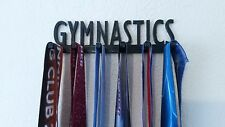 Gymnastics Handmade MEDAL SPORTS DISPLAY,HOLDER,HANGER for Gymnasts FREE SHIP