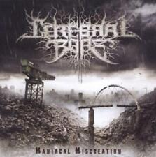 "Cerebral Bore ""Maniacal Miscreation"" CD - NEU"