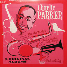 Charlie Parker 3 ORIGINAL ALBUMS 180g BIRD & DIZ Gatefold NEW Vinyl Passion 2 LP