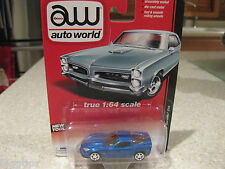 AUTO WORLD 2012 CHEVROLET CORVETTE Z06 BLUE 1:64 DIE CAST NEW TOOL
