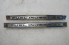 1965 Corvette Fuel Injection Emblems USED NICE 3857572