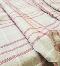 1 Metre Laura Ashley Keynes Cranberry  Fabric Available Off The Roll