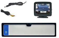 """Nummernschildkamera & 3.5 """" Monitor passend für Mitsubishi Fahrzeuge"""
