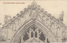 Top Of East Window, The Abbey, MELROSE, Roxburghshire
