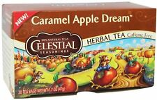 Caramel Apple Dream Tea, Celestial Seasonings, 20 tea bag 1 pack