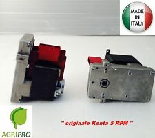 Gear motor load for pellet stove  K 911 7169 RPM 5 female Made in Italy V 220