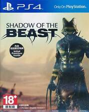 Shadow of The Beast PS4 GAME English Chinese Subtitles BRAND NEW