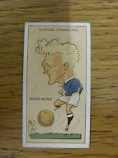 1927 MAC: No.01, Leicester City  - Hugh Adcock [Football Caricature Card Issued