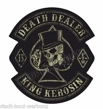 Nr.61 King Kerosin Death Dealer Aufkleber Sticker Motorrad Oldschool Retro Biker