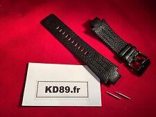 Bracelet Cuir Diesel 4129 DZ4129 Strap Band DZ 4129 Black