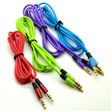 3.5mm Jack Plug To Plug Male Cable Audio Lead For Mobile iPhone iPod Stereo Hi-Q