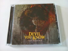 "DEVIL YOU KNOW  ""THEY BLEED RED""  CD 2015"