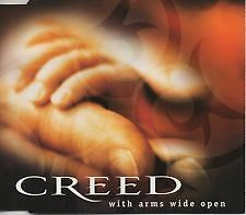 CREED - With Arms Wide Open CD Single