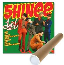 SHINEE VOL.5 [ 1 OF 1 ] CD+BOOKLET+ UNFOLDED POSTER  샤이니 1of1