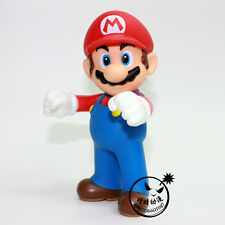 Cute Super Mario Bros 12cm Mario Yoshi PVC Action Figures toy Doll High quality