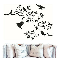 DIY NEW Birds Tree Branches Wall Sticker Decal Vinyl Art Mural Home Room Decor