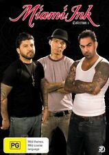 Miami Ink : Collection 4 (DVD, 2008, 3-Disc Set) NEW & SEALED REGION 4