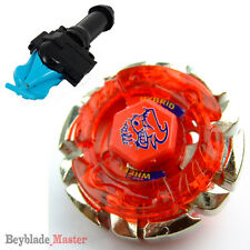 Fusion METAL Beyblade Masters BB-40 DARK BULL+BLUE STRING LAUNCHER+GRIP