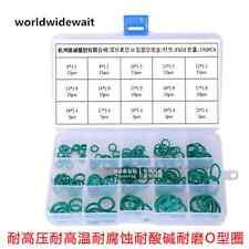 150PCS Green Viton / FKM Rubber O-Ring Seals Kit