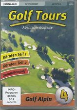 Golf Tours - Vol. 4 - Golf Alpin (DVD, 2008) Neuware