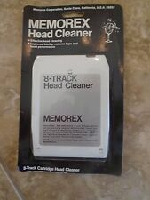 Memorex Head 8-Track Cleaner NOS NEW SEALED
