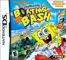 SpongeBob's Boating Bash NINTENDO DS - CARTRIDGE AND CASE NO MANUAL