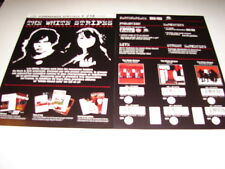 THE WHITE STRIPES DISCOGRAPHY!!!!!RARE FRENCH PRESS/KIT