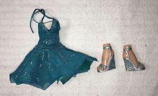 Bratz Girlz Dollz Clothes Teal Dress Boots Brats Girl Doll