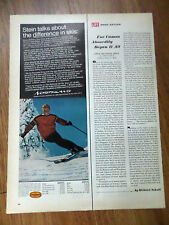 1968 Northland Larson Industries Ad    Stein Ericksen Olympic Gold Medalist