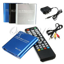 1080P Mini HDD Media Player MKV/H.264/RMVB Full HD + HOST USB/SD Card Reader