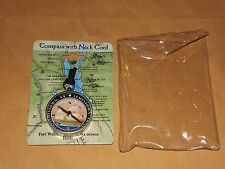 VINTAGE FORT WILLIAM HENRY HOTEL LAKE GEORGE NY JAMESTOWN VA COMPASS UNUSED