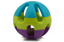 New Bird Toy Bell Balls Colorful Ball for Budgie Finch Parrot Rabbit Cat Hamster
