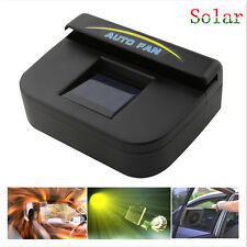 Solar Powered finestra PARABREZZA air vent ventola di raffreddamento sistema COOLER AUTO PICK-UP