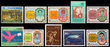 BANGLADESH-Large Mint-10 Different Commemorative Thematic Postage Stamps-MNH