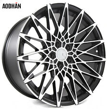 19X8.5 19X9.5 +15 Mesh Style 5X114.3 Machined Wheels Fits G35 G37 350Z 370Z TL