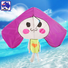 Happy Rabbit Kite 140x120cm Line&Winder included Easy to Fly OKITE4111&OKLIN2040