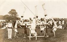 Gymnastics Display (B)  from  ' Saltash collection '  unused RP old pc