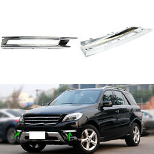 1Set New Front Fog Bumper Lamp Cover For Mercedes W166 Class ML 2011-2013