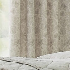 Catherine Lansfield Elmswell Floral Eyelet Ready Made 66 x 72 Lined Curtains