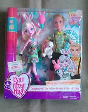Ever After High-Bunny Blanc y Alistair País De Las Maravillas-fecha de carnaval muñecas
