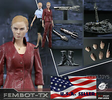1/6 Terminator 3 T-X Kristanna Loken Head Sculpt Figure Accessories Full Set USA