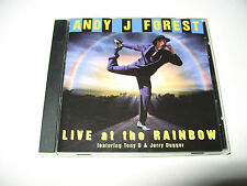 Andy J Forest Live At the Rainbow cd 12 tracks 1998 excellent condition