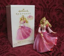 HALLMARK 2006 BARBIE AS GENEVIEVE IN THE 12 DANCING PRINCESSES ORNAMENT