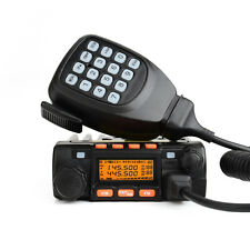 NEW Dual Band Mobile Transceiver VHF136-174/UHF400-480MHz Vehicle Two-Way Radio