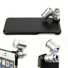 60X Zoom Mobile Phone Microscope Lens Telescope Camera For Apple iPhone 6 4.7""