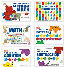 McGrath Math Teddy Bear Math,School Day,Patterns,Counting,Addition,Subtraction