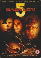 BABYLON 5 - Series 1. SIGNS AND PORTENTS. Claudia Chistian (6xDVD BOX SET 2004)