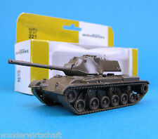 Minitanks h0 221 lucha-tanques Patton m47 US Army ho 1:87 Tank OVP roco Herpa